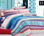 Ardor Norska Double Quilt Cover Set - Multi 1