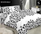 Apartmento Antoinette Single Quilt Cover Set - White 1