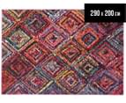 Antares Patchwork Diamond 290x200cm Rug - Multi 1