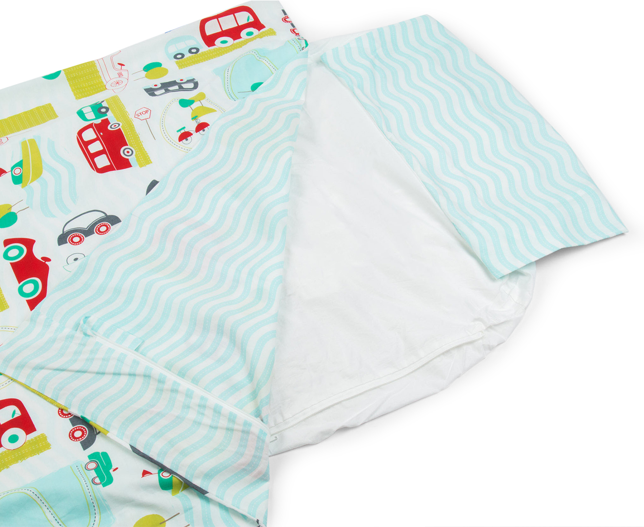 Gro To Bed All Aboard Unique Zip In Bedding Set Junior