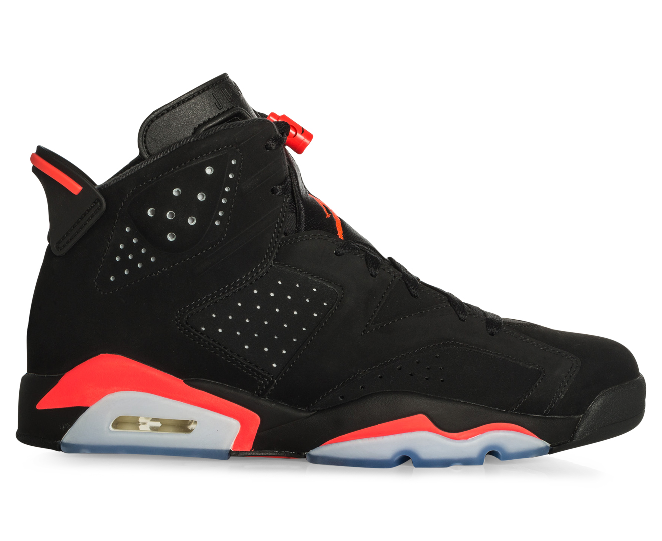 Nike Air Jordan 6 Vi Rétro - Noir / Infrarouge Massagers Profondes