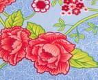 Bambury Torquay Single Quilt Cover Set - Blue/Red 5