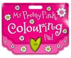 My Pretty Pink Colouring Pad 1