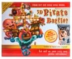 3D Pirate Battle Press Out Wall Model Set 1