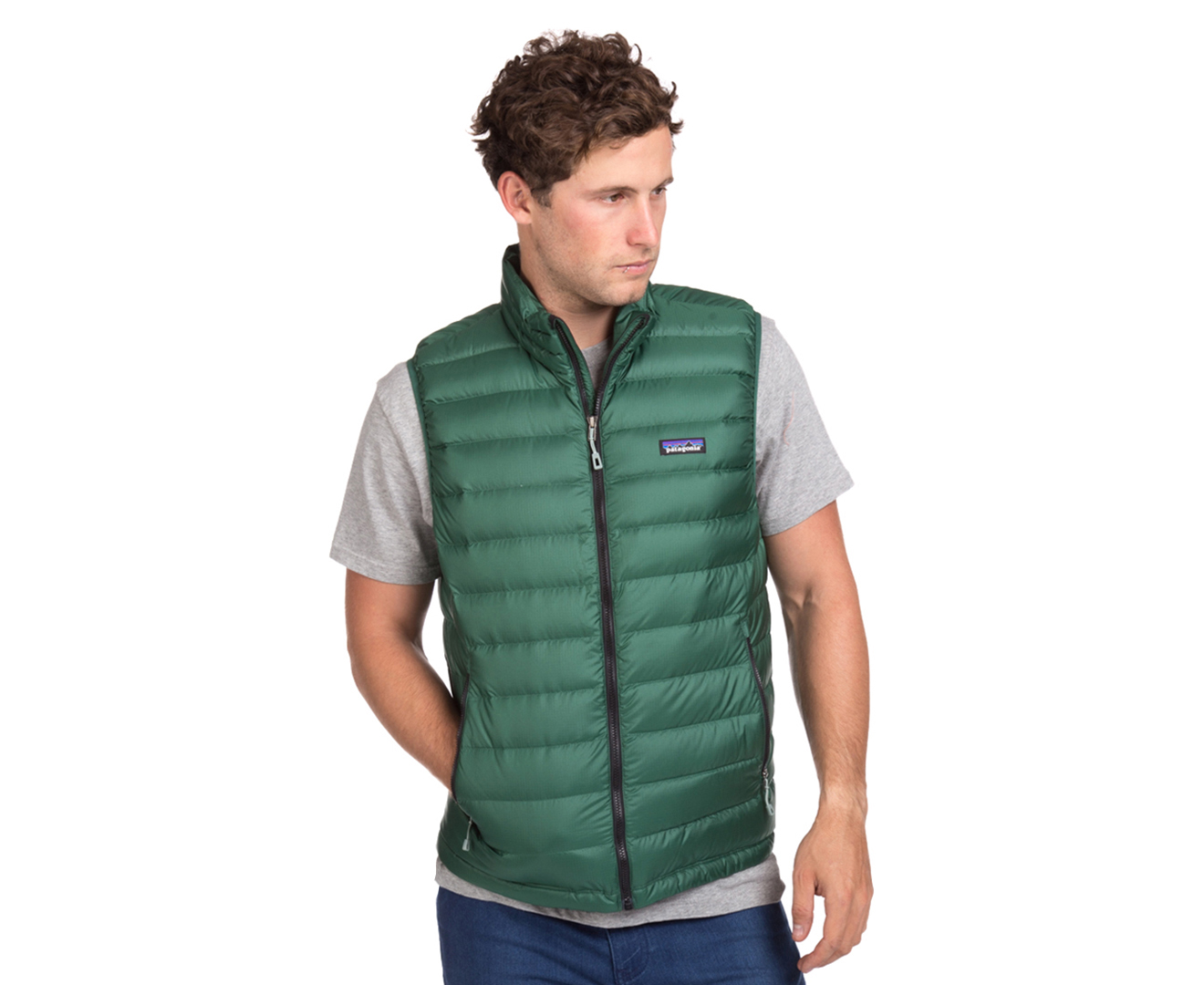 Patagonia Men's Down Sweater Vest - Malachite Green | Great daily ...