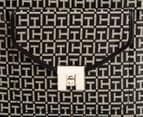 Tommy Hilfiger Postino Magazine Tote - Black/Cream 4
