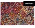 Bright Jasmine 290x200cm Rug - Multicoloured 1