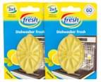 2 x Nice 'n' Fresh Dishwasher Deodoriser 3