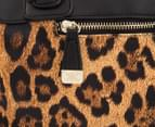 Kardashian Kollection Tainted Love Barrel Bag - Leopard/Multi 4