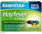 Ease A Cold Hayfever & Allergy Liquid Caps 24pk 1