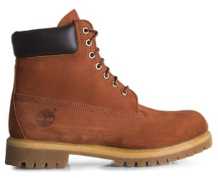 "Timberland Men's 6"" Premium Boots - Brown"