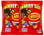 2 x Allen's Retro Party Mix Family Size 480g 1