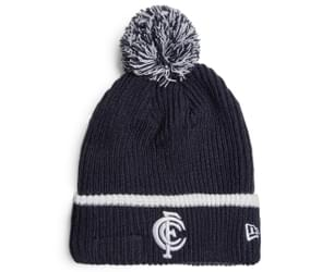 New Era AFL Fireside Beanie - Carlton Blues