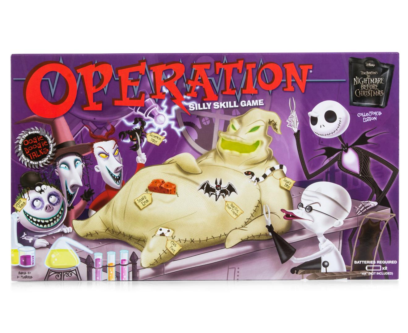 Nightmare Before Christmas Operation Game | Catch.com.au