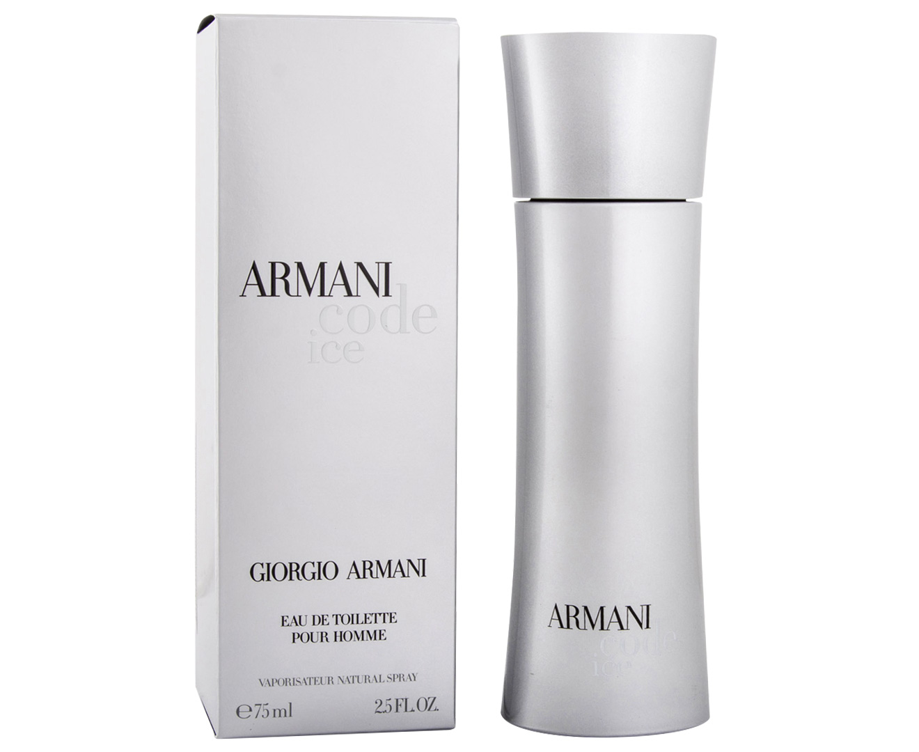 Code Homme 75ml Pour Edt Armani Ice S54AR3Lcjq