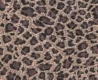 Tony Bianco Quilted Tote - Leopard 5