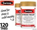 2 x Swisse Ultiboost Stress Relief 60 Tabs 1