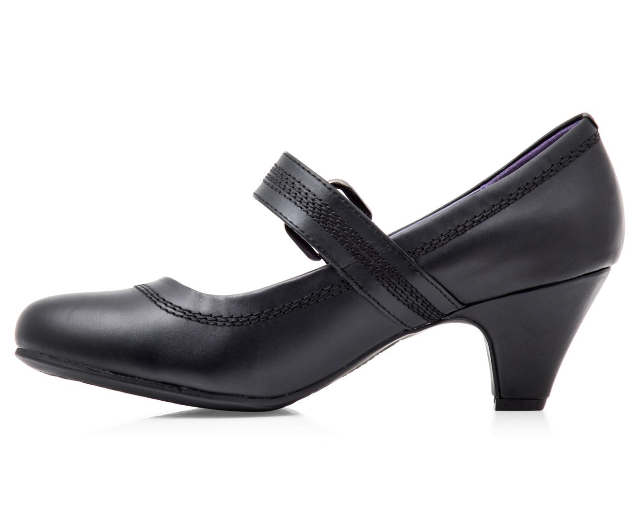 Grosby Women's Mary Jane 2 Shoe - Black
