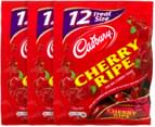 3 x Cadbury Cherry Ripe Sharepack 216g 1