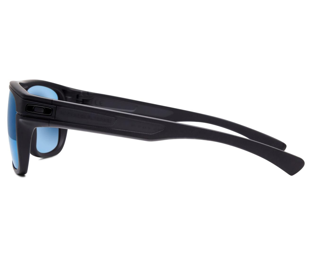 ef7b75953f Oakley Breadbox Sunglasses - Matte Black Ink Violet Iridium