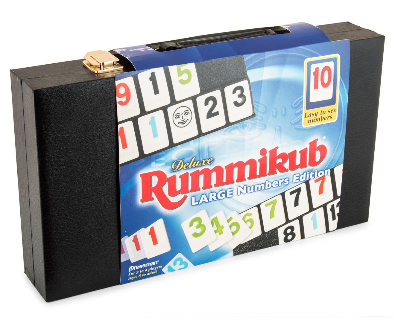 Deluxe Rummikub Large Numbers Edition Game | Catch.com.au