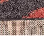 Rug Connection Metro Chevron 290 x 200cm Rug - Rust 5
