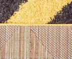 Rug Connection Metro Chevron 330 x 240cm Rug - Yellow 5