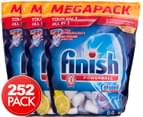 3 x Finish Powerball Tabs All-In-1 Lemon 84pk 1