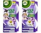 2 x Air Wick Stick Ups Air Fresheners Lavender 2pk 1
