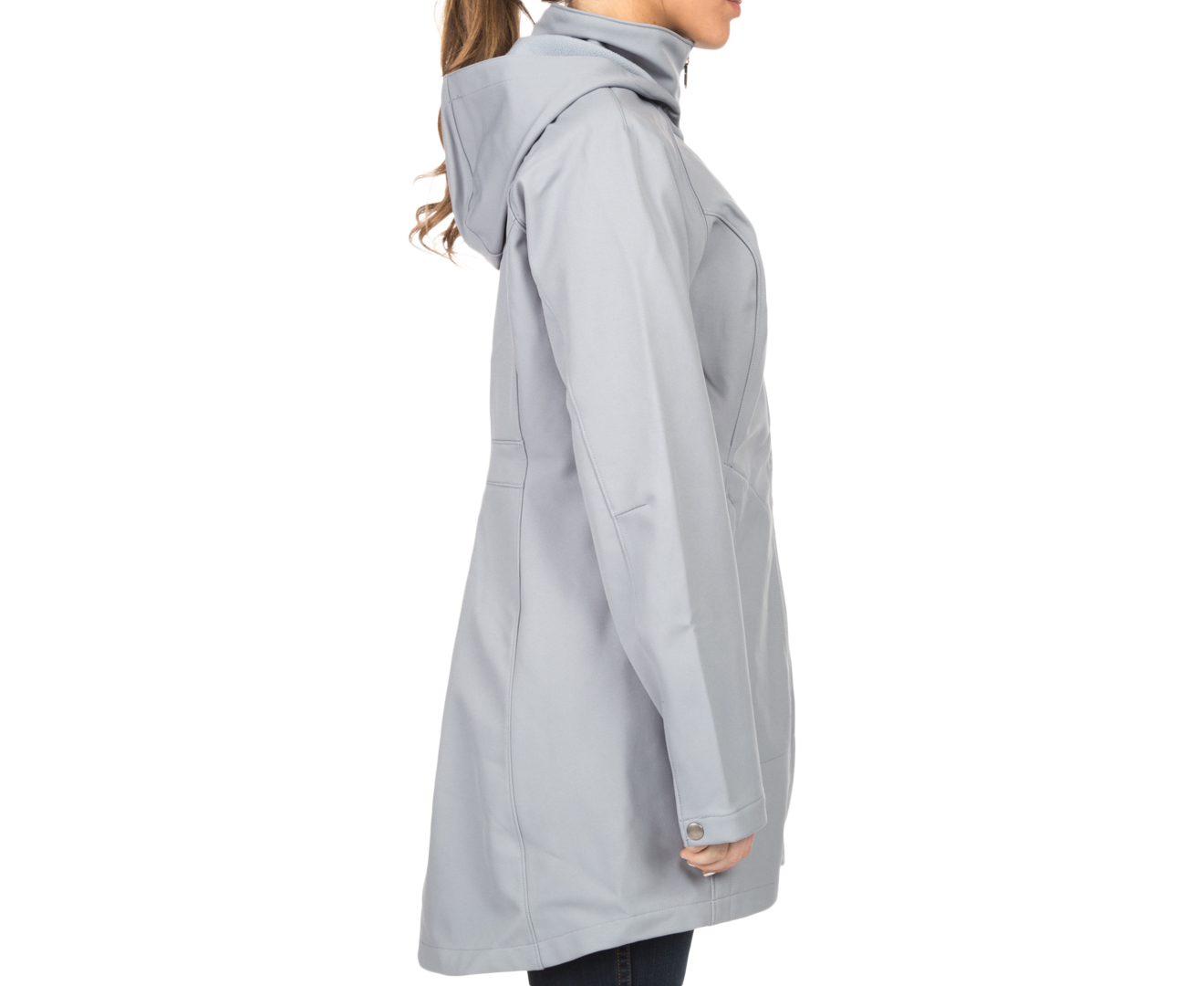 a619712adb5 Columbia Women s Take To The Streets II Long Softshell Jacket - Grey ...