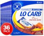 36 x Aussie Bodies ProteinFX Lo Carb Mini Bars Choc Caramel 30g 1