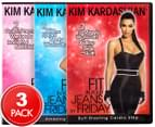 Kim Kardashian Fit In Your Jeans By Friday 3-DVD Set 1