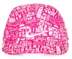Nike Girls' Size 12/24M Spark All Over Cap - Pink 1
