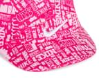 Nike Girls' Size 12/24M Spark All Over Cap - Pink 4