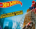 Hot Wheels Spider-Man Web Swing Drop-Out Track Set 4