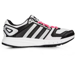 Adidas Women's Galaxy Shoe - Black/Silver/Pink