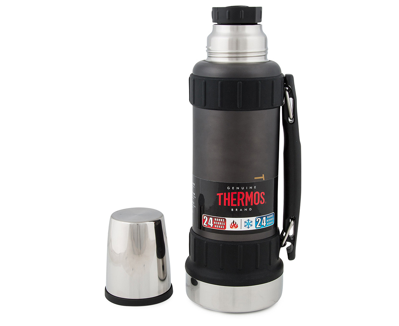 Thermos Work Series 1 2l Workman Flask Gun Metal Grey