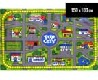 Fun City 150cm x 100cm Kids' Printed Rug - Multi 1