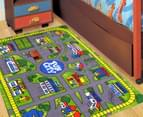 Fun City 150cm x 100cm Kids' Printed Rug - Multi 2