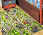 City Roads 150cm x 100cm Kids' Printed Rug - Multi 3