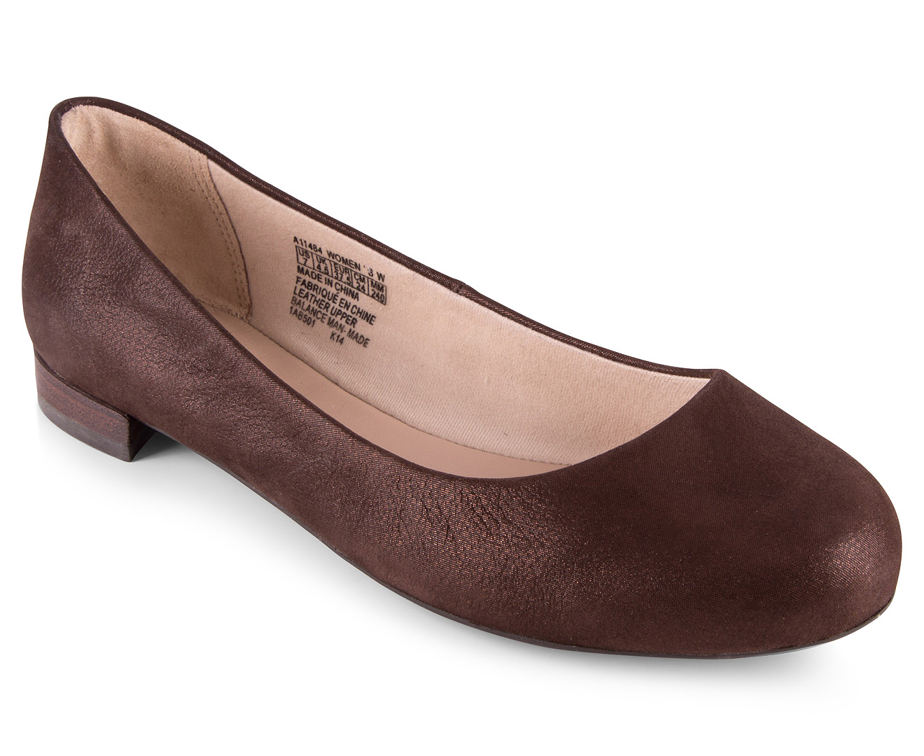 Rockport Women S Atarah Plain Ballet Flat Bronze Great