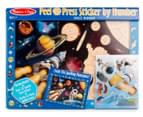 Melissa & Doug Peel & Press Sticker By Number Space Mission 1