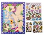 Melissa & Doug Peel + Press Sticker by Number - Butterfly Sunset 2
