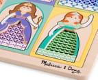 Melissa & Doug Peek-Though Puzzle Princesses 5