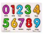 Melissa & Doug Numbers Peg Puzzle 2