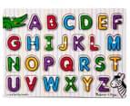 Melissa & Doug Alphabet Peg Puzzle 1