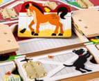 Melissa & Doug Hide & Seek Farm Magnetic Board 4