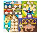 Melissa & Doug Big Button Number Fun 6