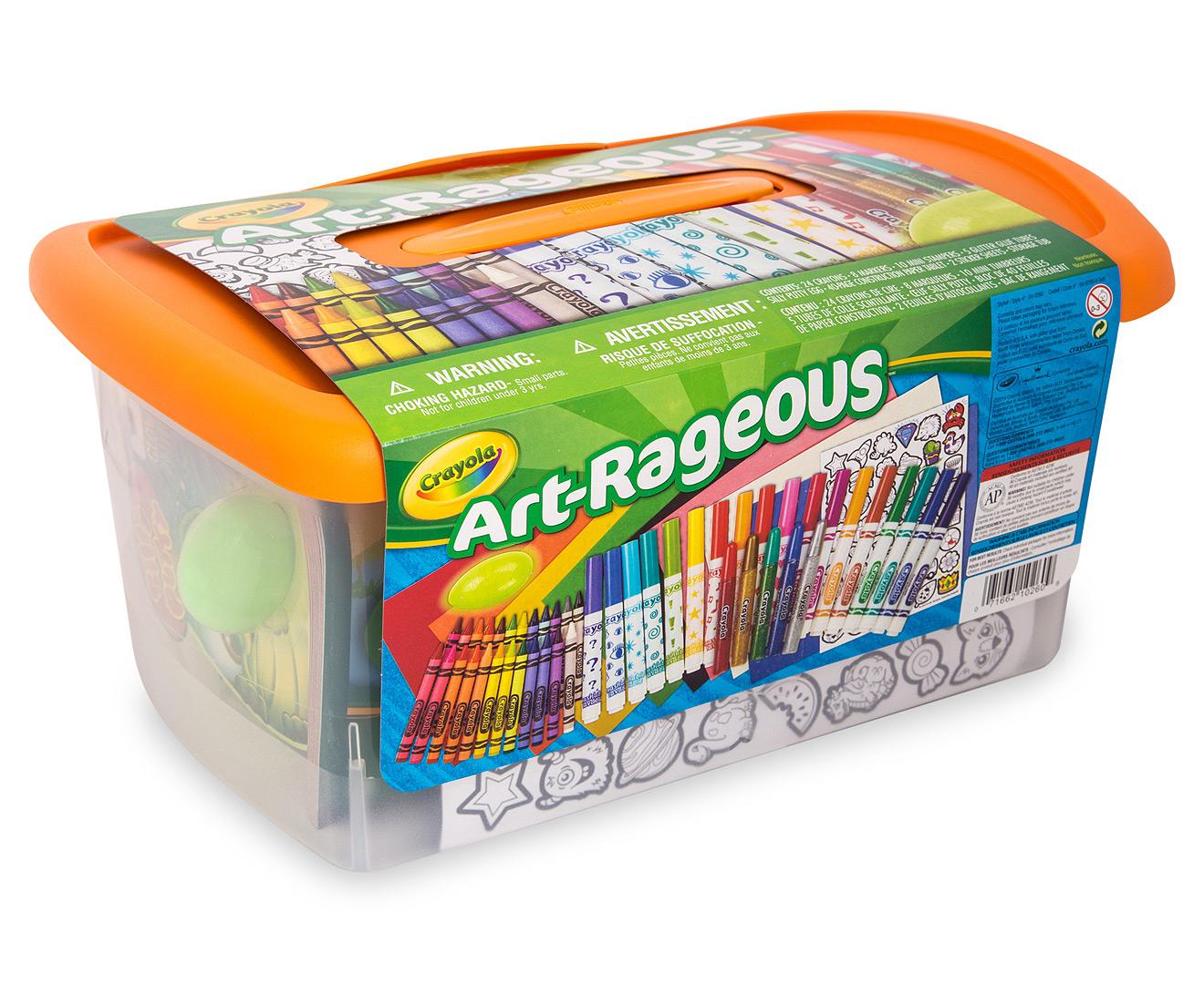 Crayola Art Rageous Creativity Tub Mumgo Com Au