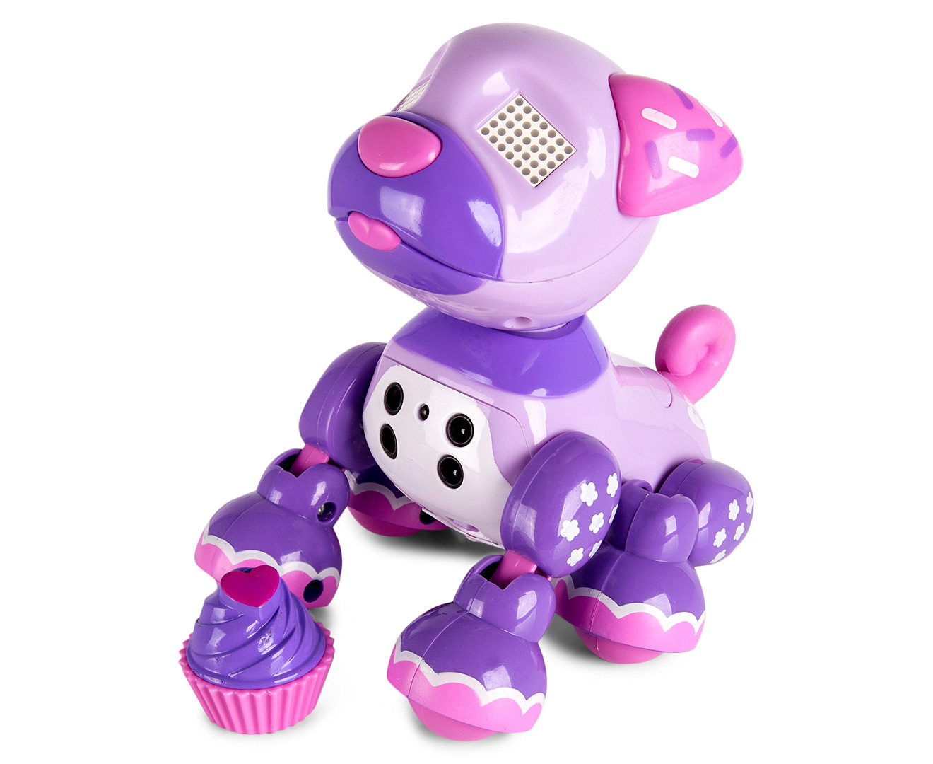 Zoomer Zuppies Interactive Robot Dog Cupcake